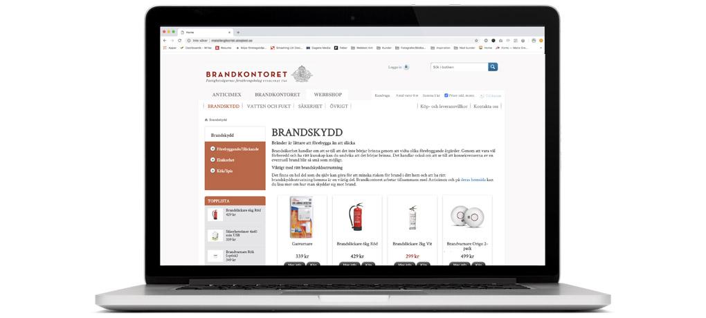 Brandkontorets webbshop